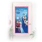 Dekoracija za vrata Frozen 76x152 cm