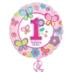 Folijski balon Birthday Girl 43 cm