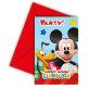 Pozivnice za rođendan Mickey Mouse
