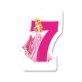 Rođendanska svjećica Princess br.7