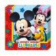 Salvete Mickey Mouse dvoslojne 33x33 cm 20/1