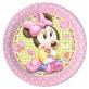 Papirnati tanjuri Minnie Baby 23 cm 8/1
